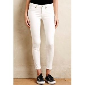 Paige Jeans - Verdugo Ankle White Jeans